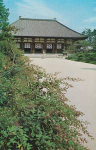 Nara Kon-do Kondo Hall Japan Japanese Postcard