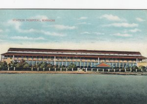 KARACHI , India , 00-10s ; Station Hospital