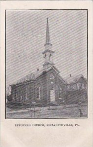 Pennsylvania Elizabethville Reformed Church