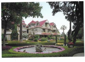 Winchester Mystery House San Jose California 4 by 6 card