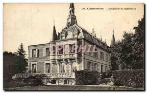 Old Postcard Chateau Chartrettes Chartrettes