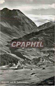 Postcard Modern und die Gotthardstrasse Hospental