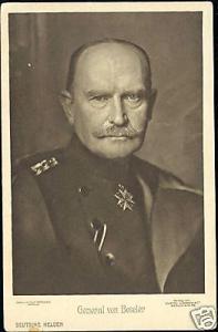 WWI German General Hans von Beseler (ca. 1918)