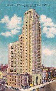 Central National Bank Building Richmond Virginia 1951