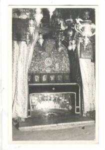Rp:  Interior, Grotto of the Nativity, Bethlehem, Palestine , 10-20s