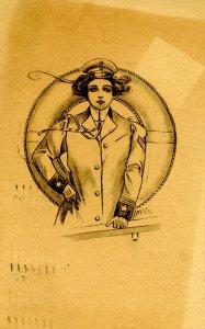 Lady Sailor - Artist: W. DeMay? Mario Mona?