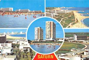 Romania Saturn Hotel Beach Plaja Esplanade General view