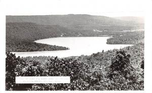 Arkansas AR Postcard c1950 LAKE FORT SMITH Observation Boston Mountain Lodge 2