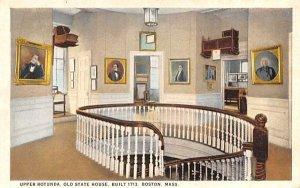 Upper Rotunda Boston, Massachusetts Postcard