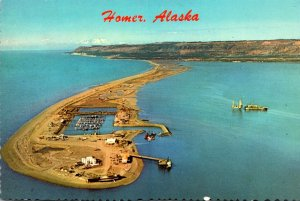 Alaska Homer Aerial View