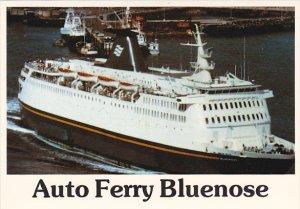 Canada C N Marine Ferry Bluenose Yarmouth Nova Scotia