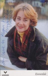 Suzanne Burden The Vet BBC 1990s Drama Show Hand Signed Cast Card Photo