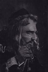 Michael Redgrave as Shylock Royal Shakespeare Company Theatre Postcard