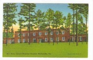 Henry County Memorial Hospital, Martinsville, Virginia, 30-40s