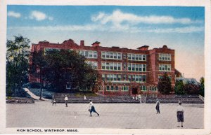 [ ? ] US Massachusetts Winthrop - High School