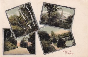 TORONTO, Ontario, Canada, PU-1905; High Park, 4-Views