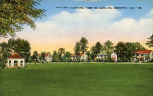 AL - Anniston, Ft. McClellan, Officers' Quarters