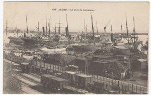 Algeria; Algiers, The Commercial Docks PPC, No 423, Unused, c 1910's