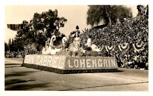CA - Pasadena. Tournament of Roses Parade, San Gabriel Float   *RPPC