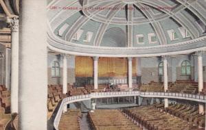 SEATTLE, Washington, 1900-1910´s; Interior of First Presbyterian Church
