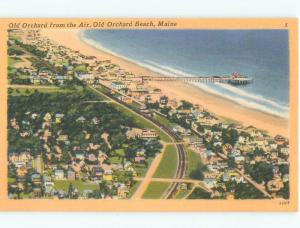 Unused Linen HOMES BY THE BEACH Old Orchard Beach Maine ME d7225