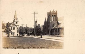 Kane Pennsylvania Corner Chase Greeves Street Real Photo Postcard K107302