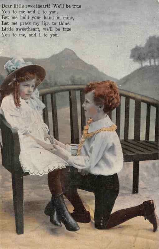 Dear little-sweetheart! Children Enfants, Couple, Fancy Clothing