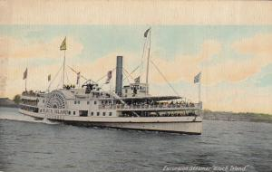 Excursion Steamer BLOCK ISLAND , 1914 , R.I.