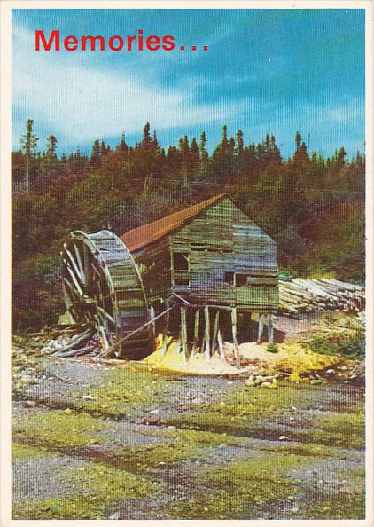 Saw Mill Deep Bight Newfoundland Canada
