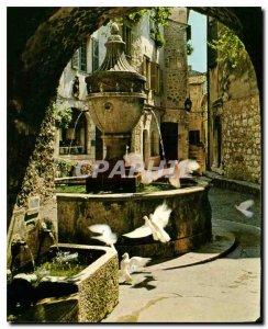 Postcard Modern French Riviera French Riviera Saint Paul Alps Maritimes Colom...