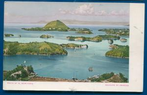 Seascape of Amakusa Isles off the Island of Kyushu postcard by Moriyama