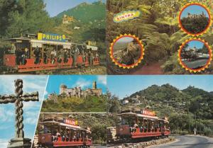 Philips Tram Bus Transport Portugal 4x Postcard s