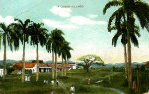 Cuba - A Village         (crease)