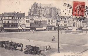 France Beauvais La Place Jeanne Hachette 1907