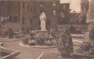Connecticut New Haven Sisters Of the Holy Ghost Saint Josephs Garden Albertype