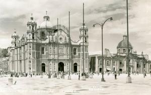 Mexico - Mexico City. Basilica of Guadalupe   *RPPC