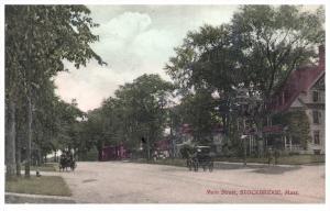 Massachusetts  Stockbridge  Main Street