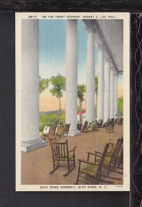 Lee Hall,Blue Ridge Assembly,Blue Ridge,NC Postcard