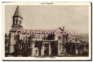 Postcard La Bourboule Old Church