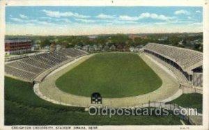 Creighton University, Stadium, Omaha, Nebraska, USA Football Stadium, Unused ...