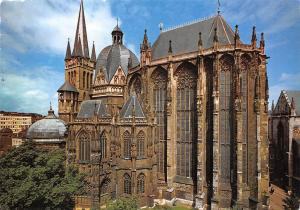 Bad Aachen Dom Suedseite Cathedral Cattedrale