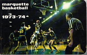 Marquette Warriors  1973-74 Media Guide