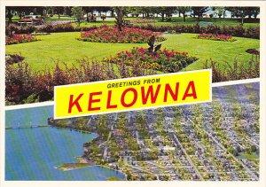 Canada Greetings From Kelowna British Columbia