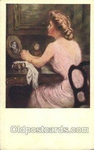 Artist Signed Clarence Underwood M.M. Vienne Series No. 387 Unused crease lef...