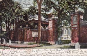 New York City Johnson Gate Harvard College 1907