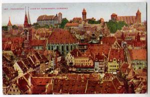 Panoramic Nuremberg Germany