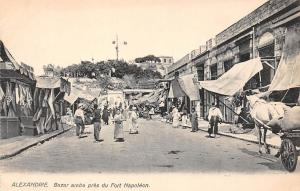Egypt Alexandrie Bazar arabe pres du Fort Napoleon, Natives