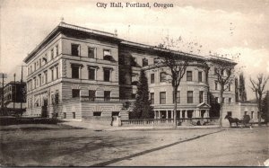 Oregon Portland City Hall 1906
