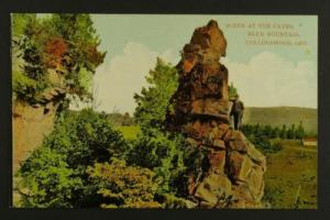 Caves, Blue Mountain Collingwood standing rock c1910-20