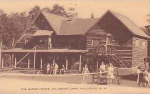 New Hampshire Hillsboro Manor House At Hillsboro Camp Artvue